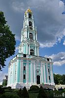 Grandeous Lavra Bell Tower Under the Grey Cloud