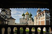 Monastery Churches from Terrace of Archimandrite's Mansion