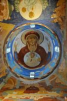 Icon of Our Lady the Sign ( Interior of a Corner Dome)