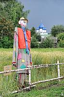 Funny & Kind Russian Garden Scarecrow