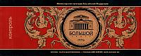 Bolshoi Theater Ticket. Front View