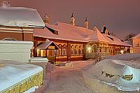The Way to Tsarina's Chambers in the Winter Twilight