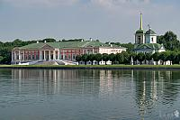 Reflections of Kuskovo Palace & Savior Church in the Grand Pond