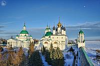 Architectural Ensemble of Spaso-Yakovlevsky Monastery in Winter