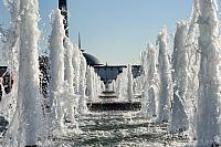Towering Fountains in Victory Park