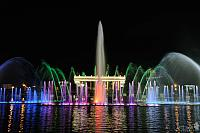 Colorful Lights of the Dancing Fountain