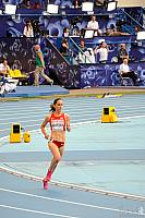 Shannon Rowbury on the track of Luzhniki Stadium