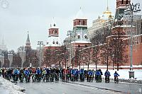Winter Moscow Bike Parade 2018
