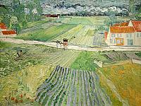 Landscape at Auvers after Rain (1890)