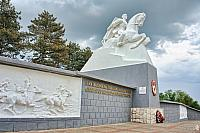 Monument to the Cossacks at Kushchevskaya Village