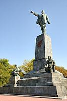 Guiding to the Harbor - The Monument to Lenin in Sevastopol