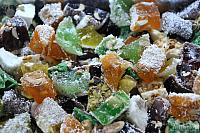 Pieces of Flavored Turkish Delight