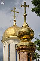 Golden Onion and Helmet Shaped Domes (Sergiev Posad)