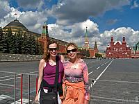 We on the Beautiful Red Square!