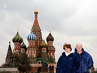 At Wonderful St. Basil's Cathedral