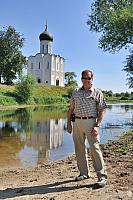 At the Ancient White Stone Cathedral on the River Nerl