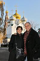 At Smolensky Cathedral in Novodevichy Convent