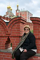 At the Beautiful Kremlin Walls