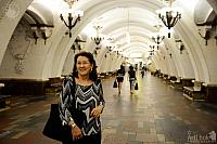 In the Beautiful Underground Palace in Naryshkin Baroque