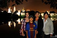 Family Photo at Novodevichy Pond