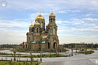 Overview the Main Cathedral of the Russian Armed Forces