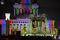 Fountain of Nations and Projection Mapping on the Central Pavilion