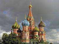 St. Basil's Dazzling Domes (Moscow)