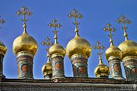 Golden Domes of Verkhospassky Cathedral (Moscow Kremlin)