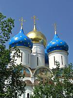 Blue and Golden Domes of Assumption (Sergiev Posad)