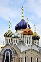 Porcelain Domes of Grand Prince Igor Cathedral (Peredelkino)