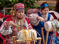 Bobbin Lace Makers in Izmailovo Kremlin