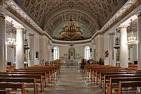 The Central Nave of St. Louis Church