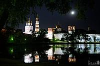 Novodevichy Convent in the Moonlight