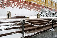 Tomb of Unknown Soldier after Heavy Snowfall