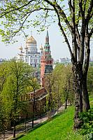 Christ the Savior's Cathedral and Kremlin Towers