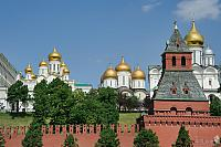 Kremlin Churches and Taynitskaya Tower