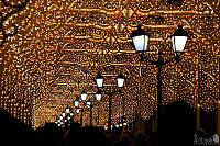 In the Tunnel of a Thousand Lights on Nikolskaya Street