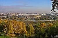 Panorama of Moscow from Vorobyevy Gory (Sparrow Hills)