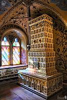 Tiled Stove in Antechamber of Terem Palace