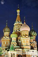 Amazing Domes of St. Basil's Under the Darkening Sky