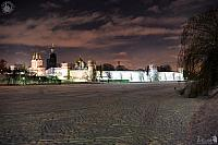 Novodevichy Convent at Winter Night