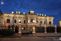 Residence of HM Ambassador of Great Britain at Summer Twilight