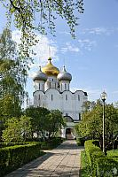 A Way to the Main Cathedral of Novodevichy
