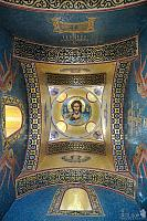 Beautiful Mosaic Interior of Prohorovs Chapel