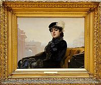 Unknown Lady (1883) by I.N. Kramskoy