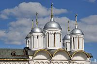 Beautiful Silver Helmet Domes of the Church of Twelve Apostles