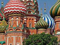Stunning Onion-shaped Cupolas of St. Basil's Cathedral
