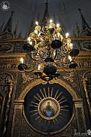 Lights of Chandelier of the Western Chapel of St. Basil's Cathedral