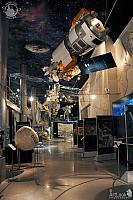 In New Exhibition Hall of Memorial Museum of Cosmonautics