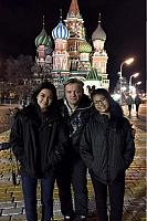 Memory Photo on Red Square at Night